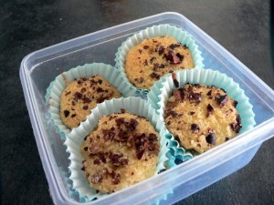 muffins ananas cacao